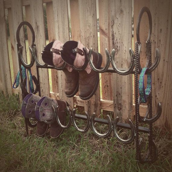 Check out this item in my Etsy shop https://www.etsy.com/listing/225986634/cowboy-boots-storage-rustic-boot-storage
