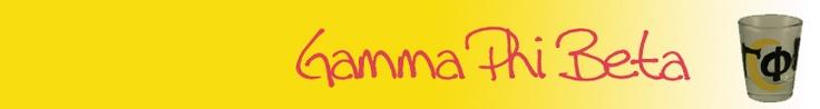 Gamma Phi Beta craft store? Uhm, yeah!