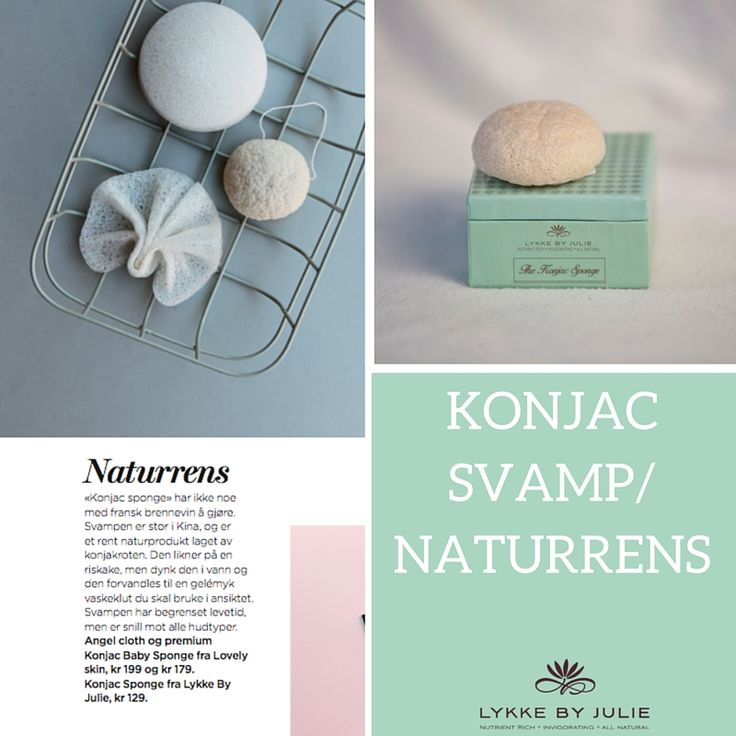 Did you know that Konjac Sponge is made out of 100% pure, natural konjac fiber, wich derives from the konjac tree and is an ideal facial cleanser?