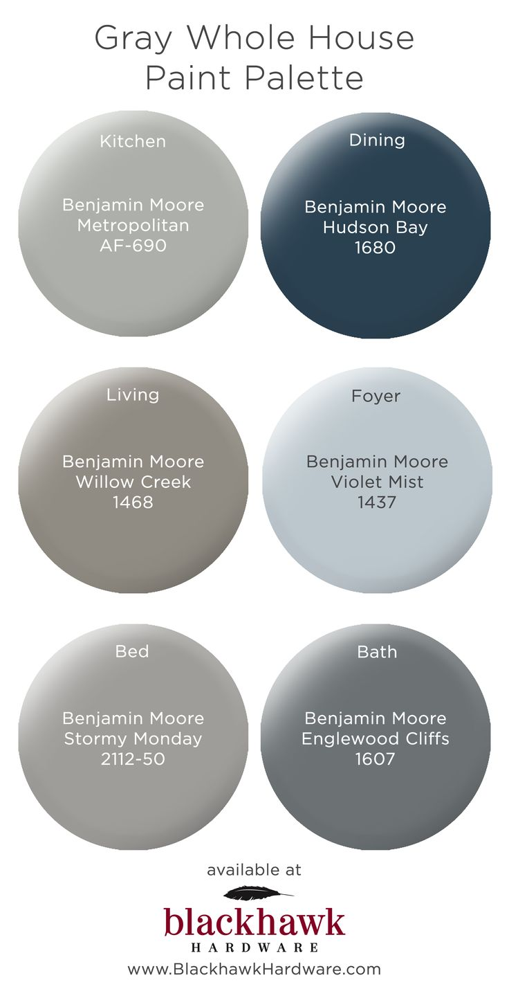 Whole house paint palettes by benjamin moore in 2019 - Benjamin moore interior paint colors ...