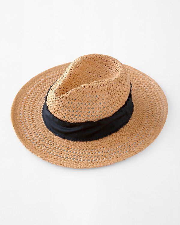 An Elegant Shift From The Standard Sun Hat This Modern Rancher Is At Home On Any Range Lightweight In Open Weave Paper Straw W Rancher Hat Garnet Hill Garnet