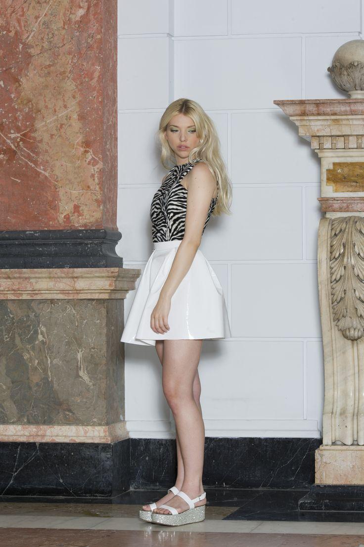 Clothes: FANNY NAGY Photo: Jácint Halász Smink: Rebeka Nagy Haj: Krasznár Zsolt Model: Cintia Kalász @Visage