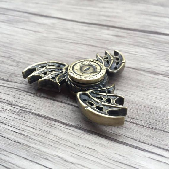 """<p>This beautiful fidget spinner is dedicated to all the got fans! Tag your buddies!</p> <p>""""When you play a game of thrones you win or you die.""""<br />― George R.R. Martin, A Game of Thrones</p>"""