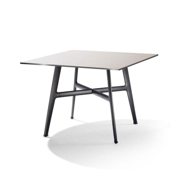Dedon SeaX Esstisch quadratisch 100x100 cm, SeaX Outdoor Loungemöbel