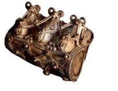 Poland - West Slavs | Kaptorga - early medieval container for amulets and/or sacred herbs, worn around the neck. | Kaptorga ze Starej Korzymi (?)