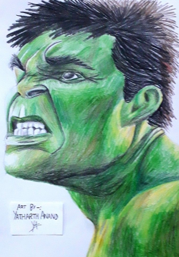 Made By Colour Pencils Avengers Art Marvel Fan Art Sketches