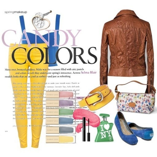 Candy Colors and Italian LeatherJackets - Pierotucci is an Italian leather factory