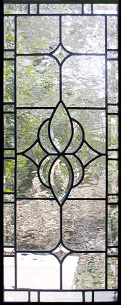 beveled leaded sidelight window by Jack McCoy©