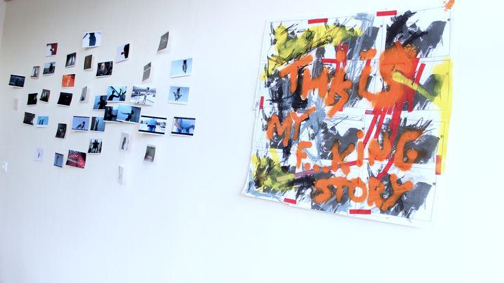 Exhibition / 1 FRAME / EXHIBITION OF JANOS VISNYOVSZKY'S ARTWORK