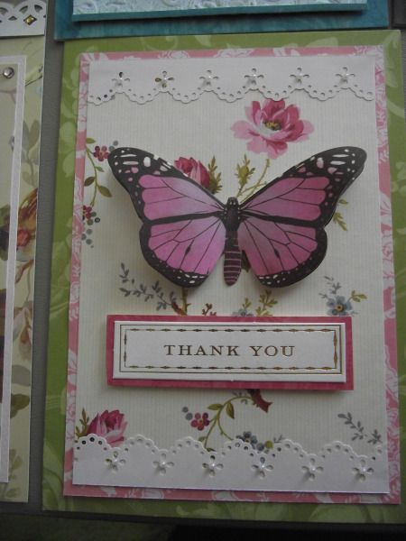 Anna Griffin Thank You Cards by iluvpaper2 - Cards and Paper Crafts at Splitcoaststampers