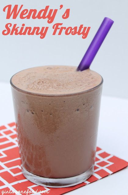 Wendy's Skinny Frosty -- I recommend adding just a bit more Hershey's Syrup and vanilla extract :) Just sayin'.