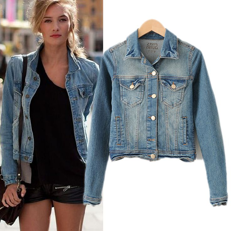 17 best Denim Jacket images on Pinterest | Denim jacket womens ...