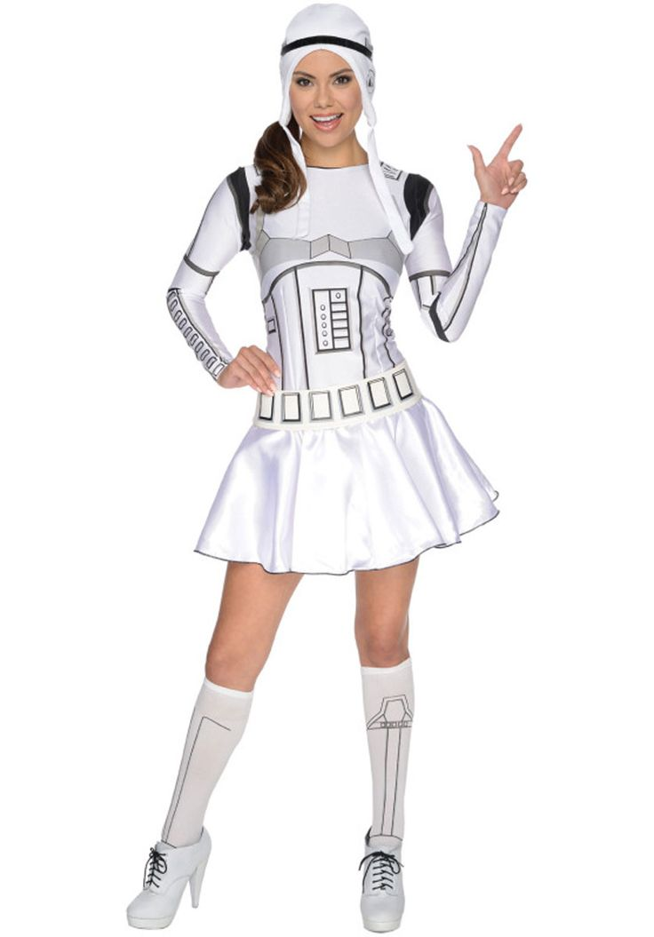 Female Stormtrooper Costume, Star Wars Fancy Dress for Women - Star Wars Costumes at Escapade