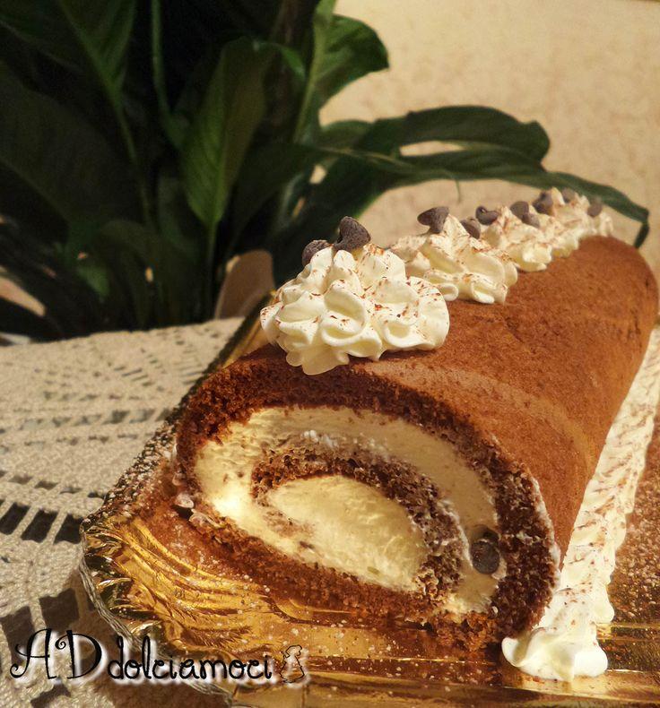 E se non avete idee per il dolce di domani una ve la do io. Con questo rotolo al cacao con crema al mascarpone farete un successone!! E' buonissimo!! http://addolciamoci.altervista.org/2015/01/rotolo-al-cacao-con-crema-al-mascarpone/
