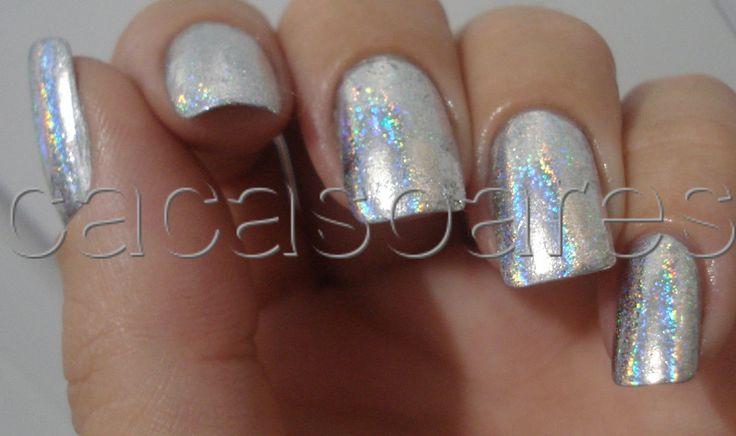 14 best nail foil images on Pinterest   Crystal nails, Foil nails ...