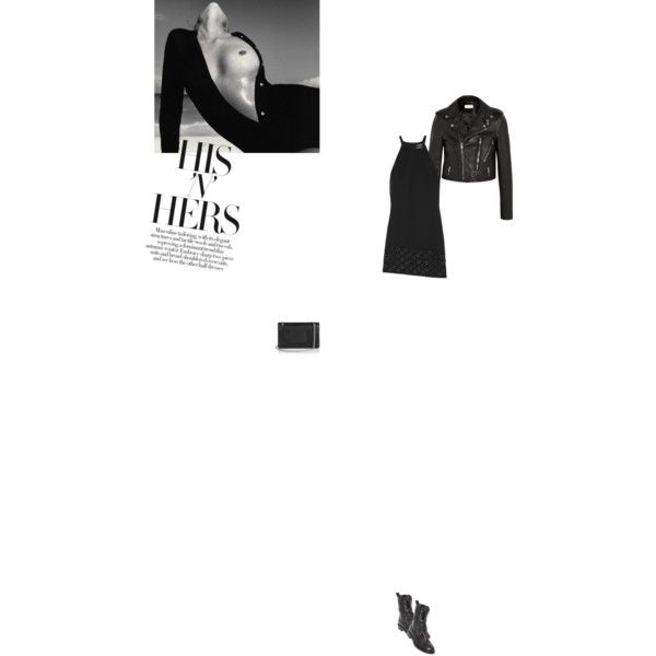 Bez tytułu #104 by izabelmaz on Polyvore featuring moda, Anthony Vaccarello, Yves Saint Laurent and Casadei