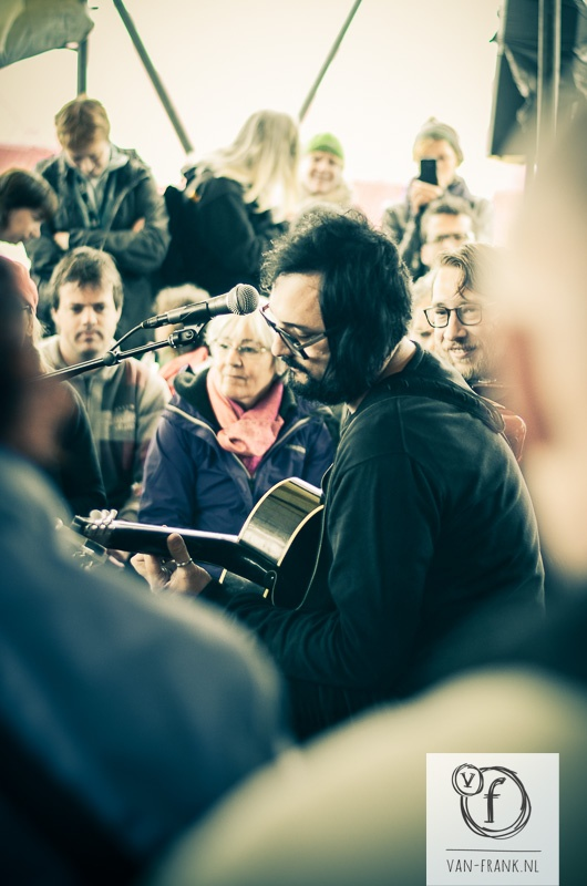 Singer/songwriter 'Blaudzun': we became his newest fans on the festival.