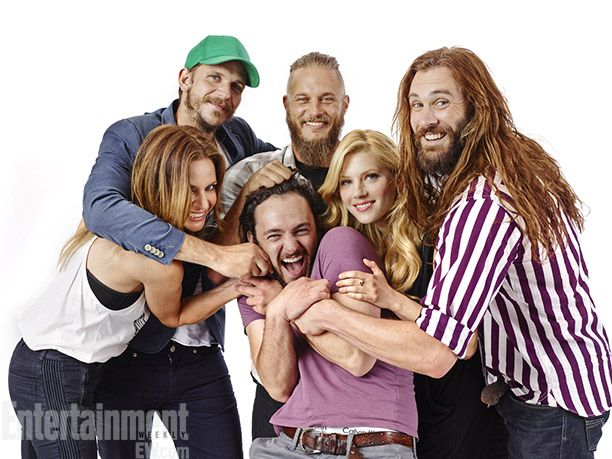 The Cast of Vikings -- Comic-Con '13 Star Portraits: Day 2 | Photo 23 of 41 | EW.com