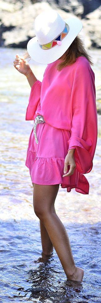Ma Petite By Ana Pink Beautiful Beach Dress