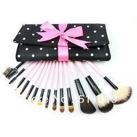 El envío libre compone el cepillo profesional del maquillaje Cepillos y herramientas de maquillaje del sistema de cepillos Maquillaje juego de brochas Caso