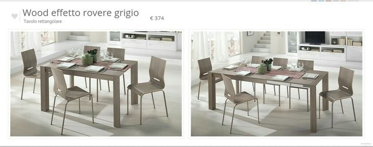 15 best tavoli e sedie images on Pinterest   Diner table, Dining ...