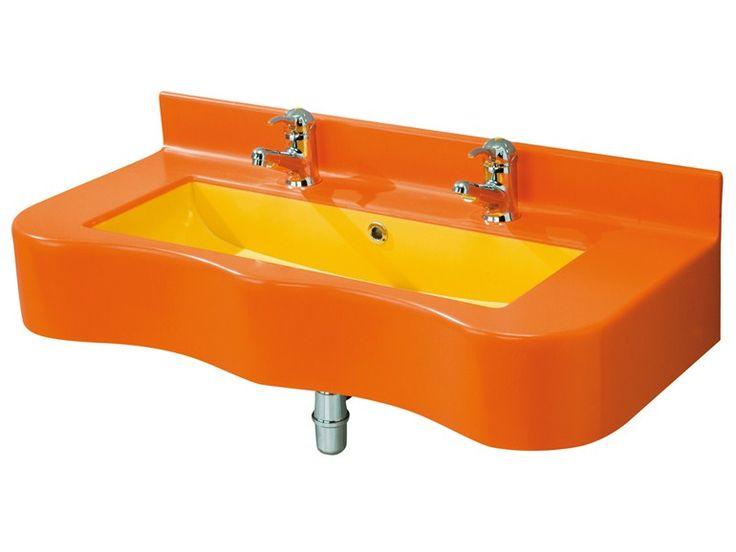 1000 id es sur le th me lavabos doubles sur pinterest for Console lavabo salle de bain