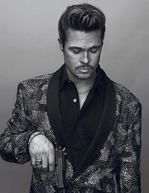 Brad Pitt photographed by Steven Klein for Interview Magazine, October/November 2012.