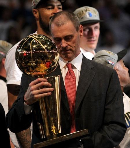 Rick Carlisle-- NBA Coach of the Year, Head Coach World Champion Dallas Mavericks