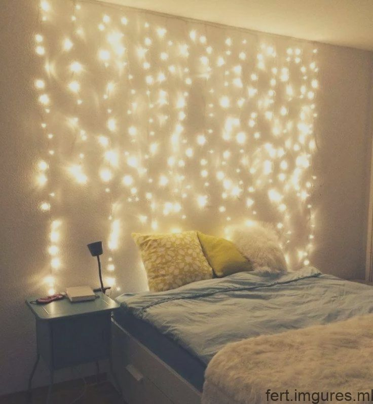 Wonderful 56 Bedroom Fairy Light Ideas Lightdecor Bedroom