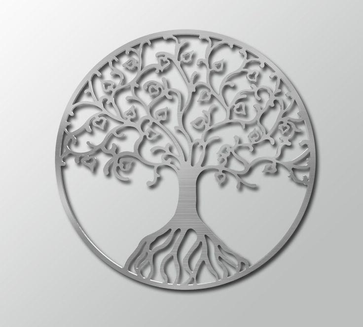 Ordinaire Metal Tree Of Life Metal Wall Art   Circle Wall Art   Contemporary Metal  Wallu2026