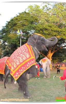 Travel around the world.: Phra Nakhon Si Ayutthaya World Heritage Fair 2015