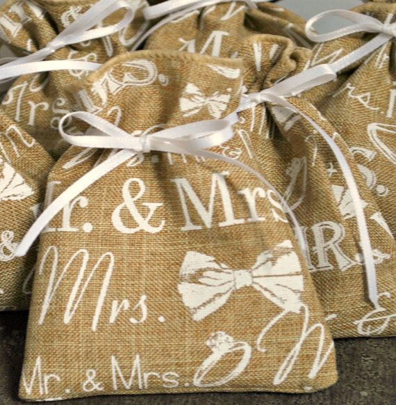 Wedding Favor Bags  Favor Bags for Weddings  by CraftyNestSupplies