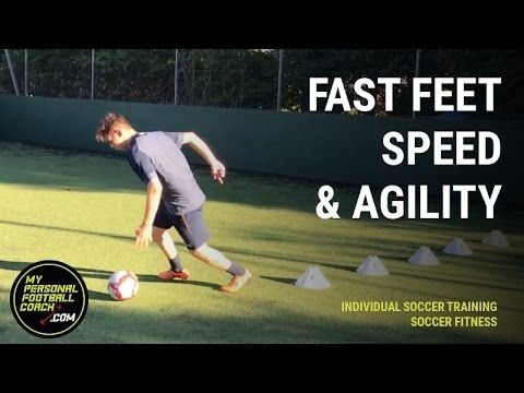 Individual Online Soccer Training - Fast Feet Speed Agility Combo - My Personal Football Coach