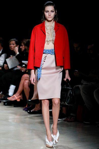 Sfilata Miu Miu Parigi - Collezioni Primavera Estate 2015 - Vogue