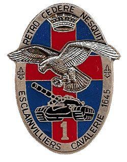 3eme Cuirassiers-Insigne 1989 du 1er escadron