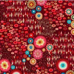 http://www.plushaddict.co.uk/makower-aurelia-abstract-red.html Makower - Aurelia Abstract Red
