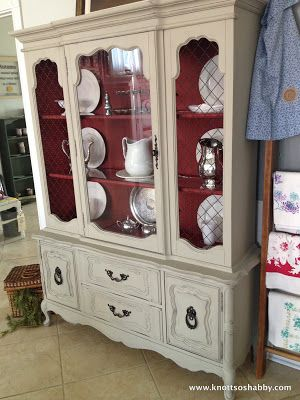 48 best Chalk paint china cabinets images on Pinterest | Painted ...