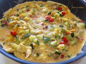 Omelette à la provençale : Diet & Délices - Recettes dietétiques