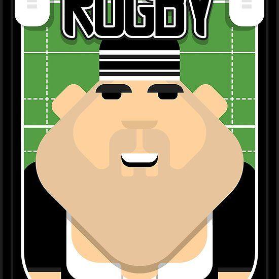 Rugby Black - Ruck Scrumpacker - Victor version