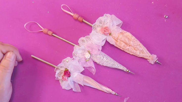 sombrillas de epoca para las muñecas , muy sencillas de hacer ,os dejo 3 ejemplos de distintas telas , y os dejo el enlace de mi tienda online http://manuali...