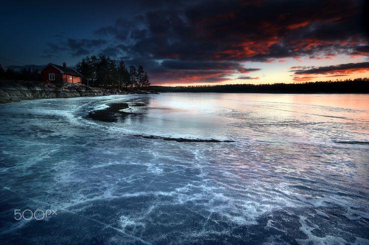 On the Frozen Lake by Adnan Bubalo ✅