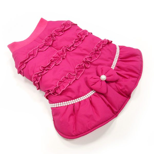 Sweet Winter Dog Coat...... I totally love this........