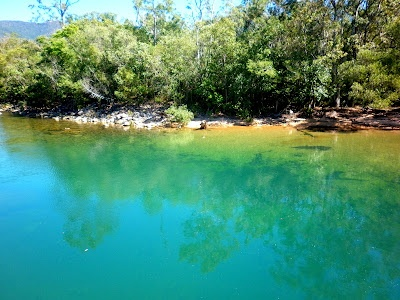 Waterhole for swimming at Crystal Creek, QLD, Australia #travel #beautiful #dream #amazing