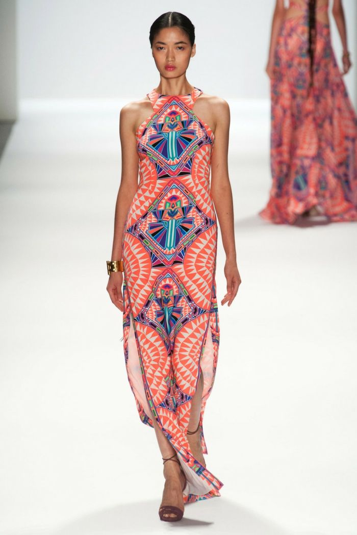 1001 Looks Chic Avec La Robe Ethnique A Adopter Cet Ete Semana De La Moda Moda Estilo Moda Boho