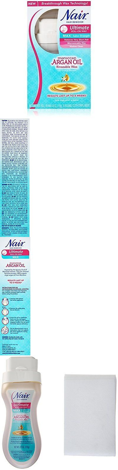 Waxing Supplies: Nair Ultimate Moroccan Argan Oil With Orange Blossom Rinseable Wax Kit New -> BUY IT NOW ONLY: $44.66 on eBay!