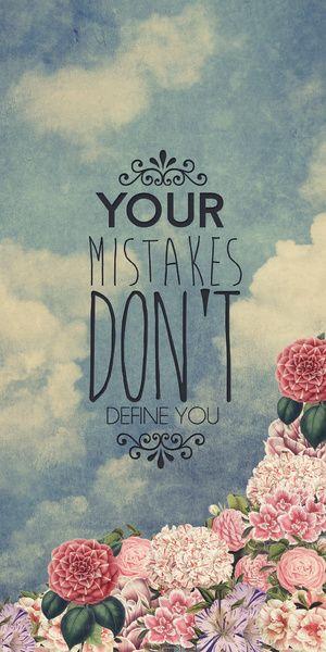 Tus errores no te definen