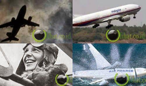 10 Peristiwa Kecelakaan Pesawat Terbang yang paling Misterius
