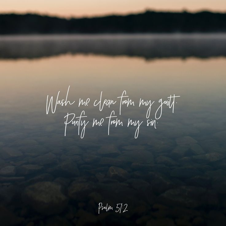 Have mercy upon me, O God, according to thy lovingkindness: according unto the multitude of thy tender mercies blot out my transgressions. Wash me thoroughly from mine iniquity, and cleanse me from my sin.  (Psalms 51:1-2 KJV)
