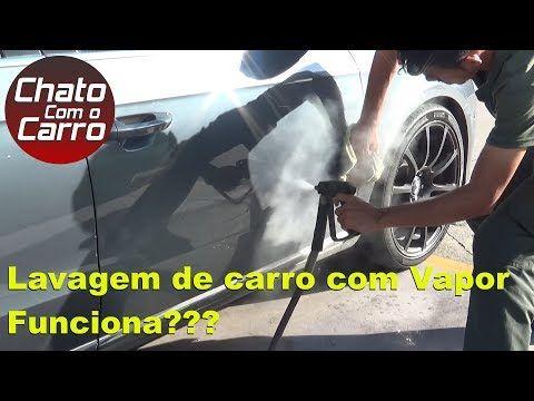 CHATO COM O CARRO Lavagem de Carro com Vapor  YOUTUBE  Car Wash With Steam