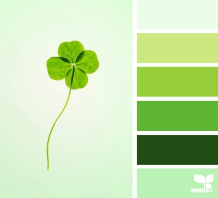 Shades Of Green Seeds Color Green Palette Design Seeds